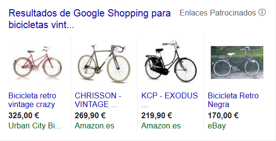 Услуги Google Shopping